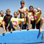 Photo de groupe - cours de surf