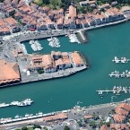 Port de Saint-jean de Luz prise par RPAS