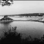 Photo noir et blanc Hendaye