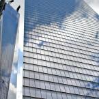 Reflet nuage New York