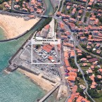 Photos drone Socoa - chantier naval de Socoa