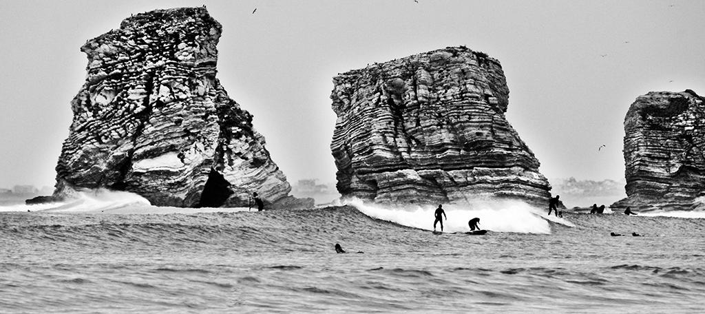 Souvent Noir et blanc de surfeur MK55
