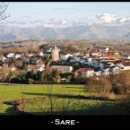 Ascain - village basque
