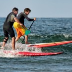 Stand up paddle au Pays Basque