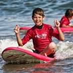 Apprentissage du surf