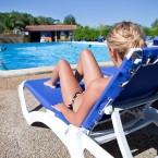 Mannequin photo piscine