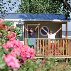 Hot spot pour visite virtuelle du camping