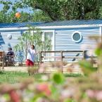 Photo mobilhome camping
