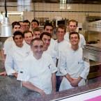 Photo de l'équipe cuisine