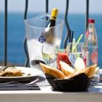 Repas au restaurant du Caritz